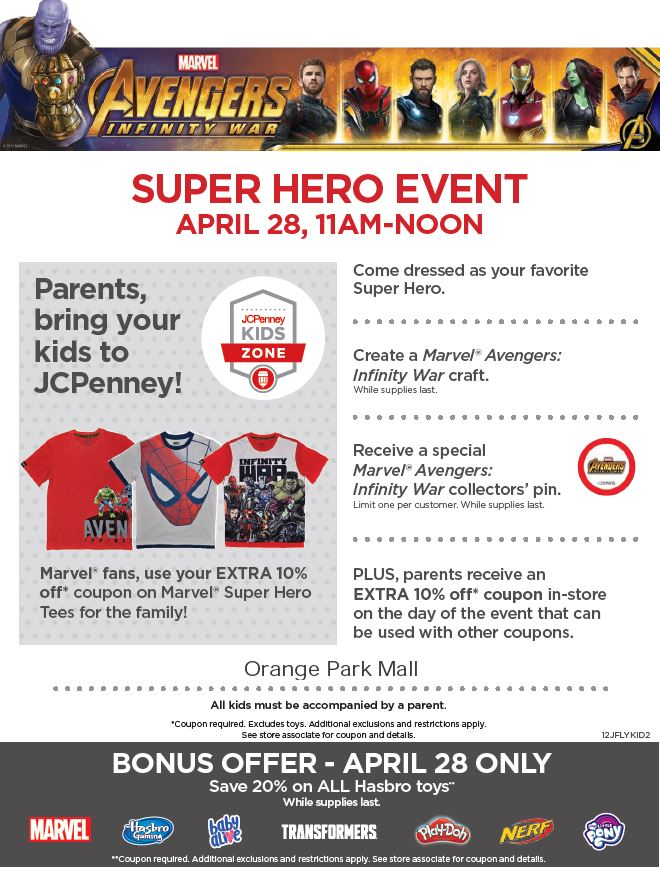 JCP Kids Zone event