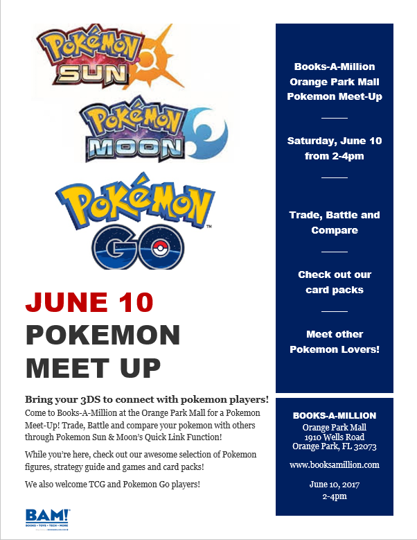 pokemon flyer june